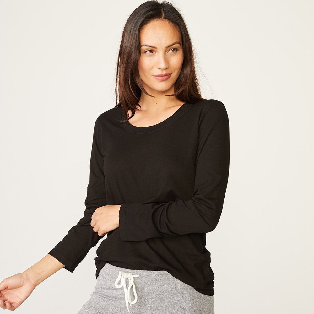 HT2162MHj - Monrow Long sleeve crew
