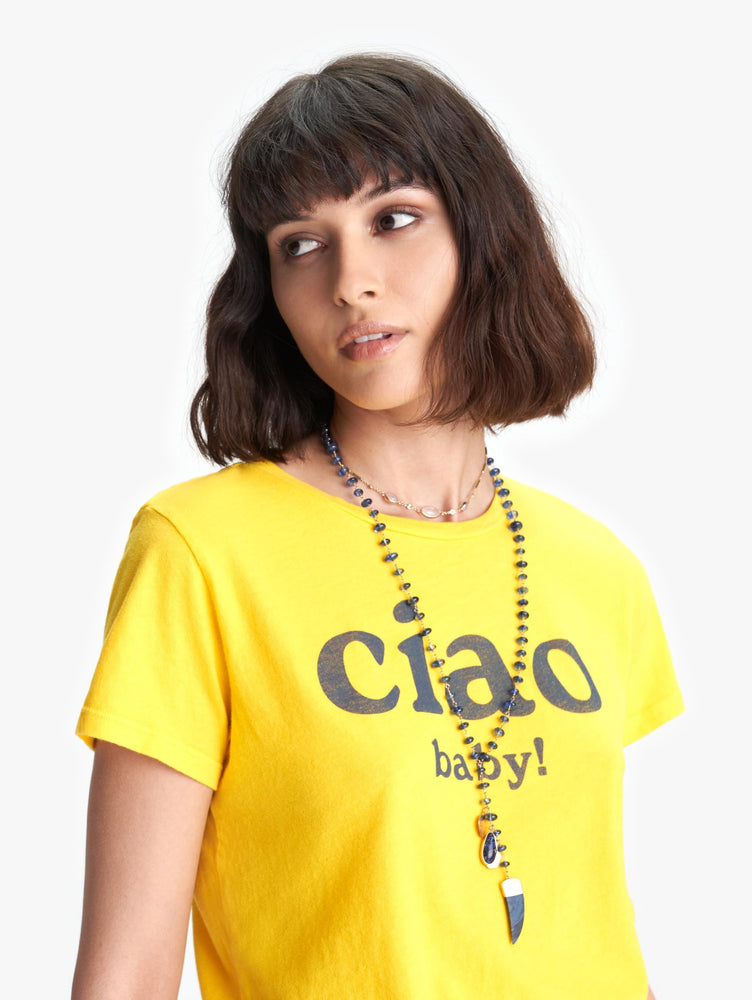 8341-387 Lil goodie goodie CIAO BABY shirt