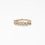 WD471, 14kt gold .60ct baguette diamond ring