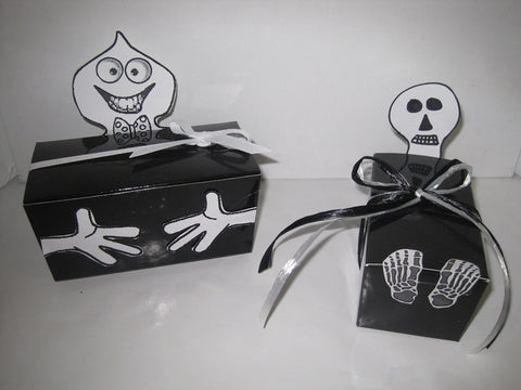 Creative Packaging - Halloween Treat Boxes