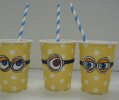 Creative Packaging - Minion Drinking Cups