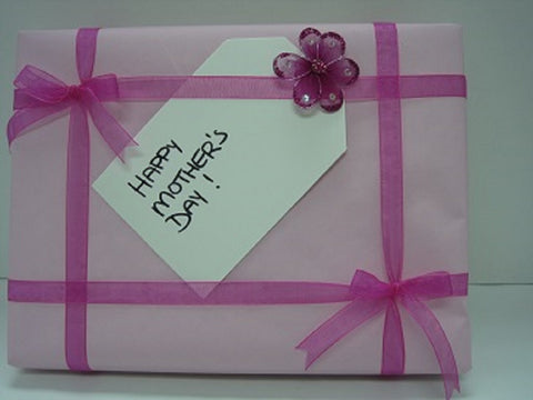 Mother's Day Pink Gift Wrap