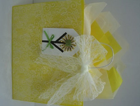 Mother's Day Yellow Gift Bag