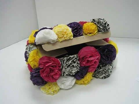 Creative Packaging - Tissue Flower Gift Box