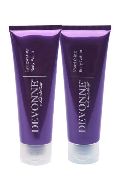 Invigorating Body Wash & Nourishing Body Lotion