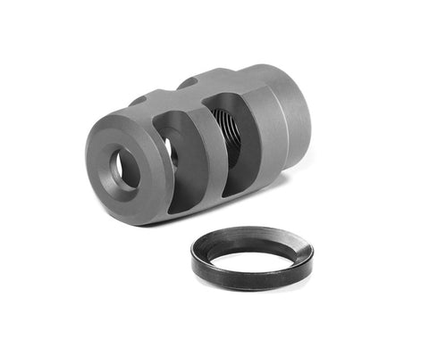 "Badger Micro FTE Muzzle Brake - 5/8""-24, .30 Cal"