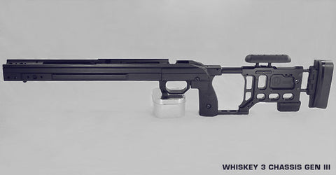 KRG Whiskey-3 Chassis - Rem 700