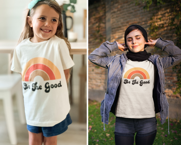 A cute graphic tee for little ones going back to school.