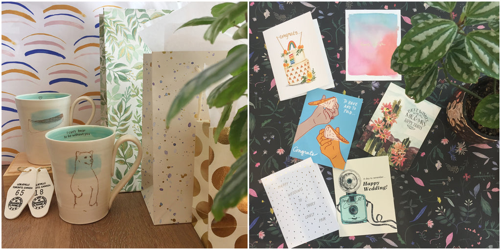 Thoughtful wedding gifts and unique wedding cards from Scout in Toronto
