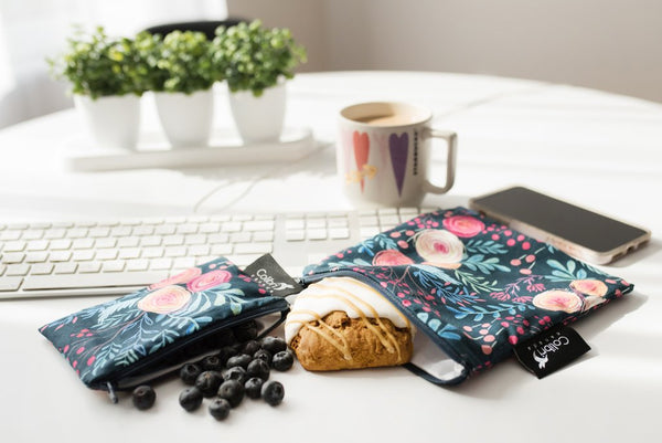 Colibri's reusable snack bags are perfect for eco-conscious kids and parents alike.