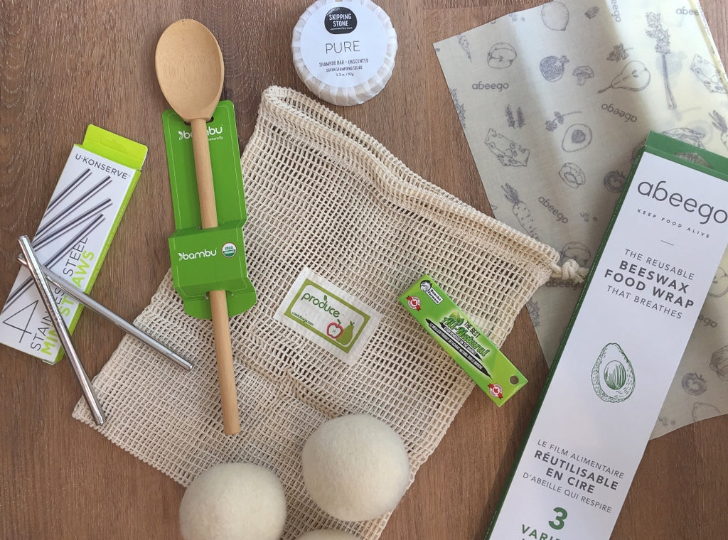 Eco-friendly stocking stuffers available at Scout in Toronto