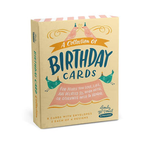 Birthday Mixed Boxed Cards