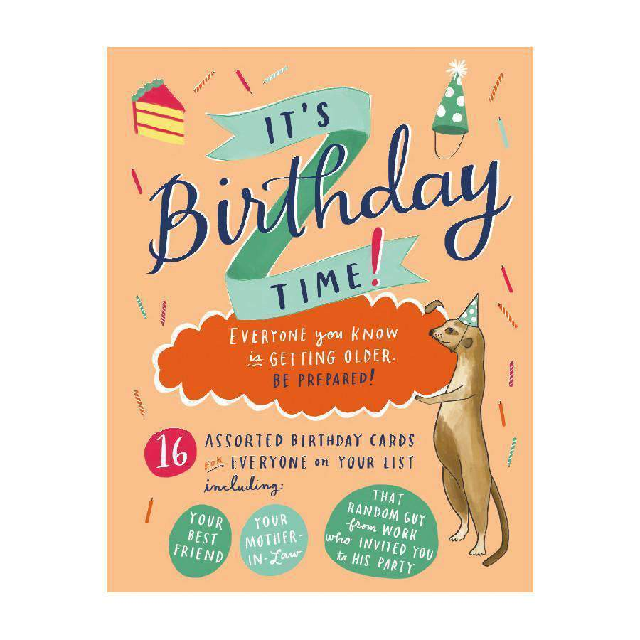 It's Birthday Time Card Set