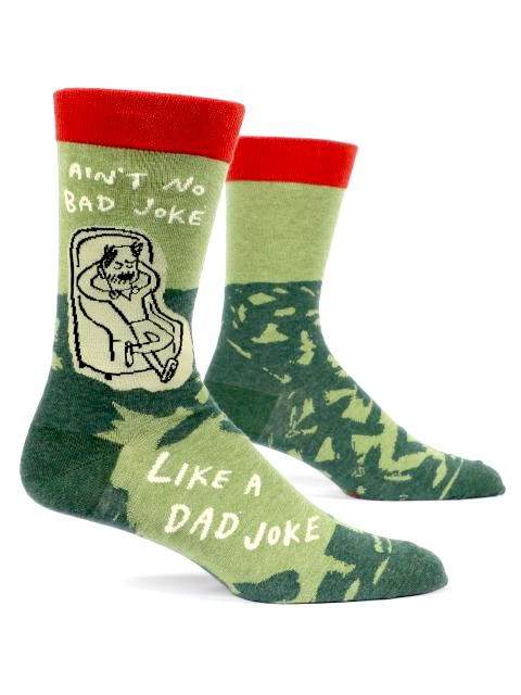Dad Joke Men's Sock