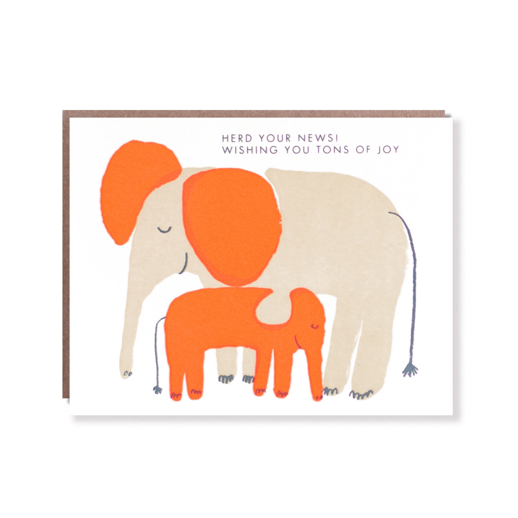 Herd Baby News Card