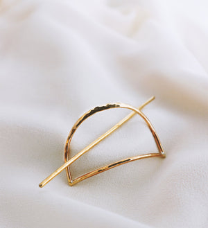 Brass Hair Slide