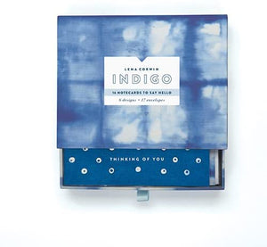 Indigo Greeting Assortment Notecards