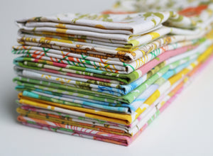 Knotted Nest Recycled Fabric Napkins