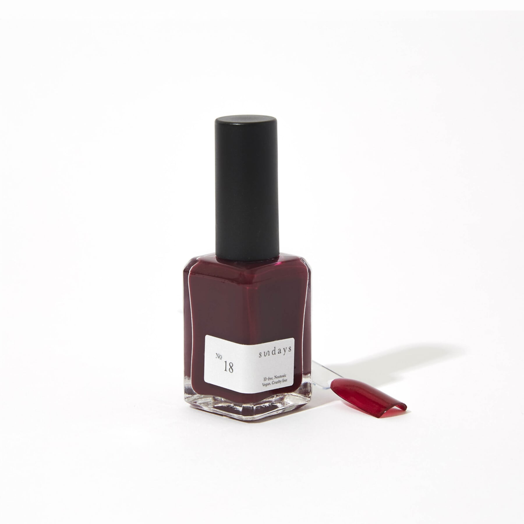 No. 18 Deep Plum Nail Polish