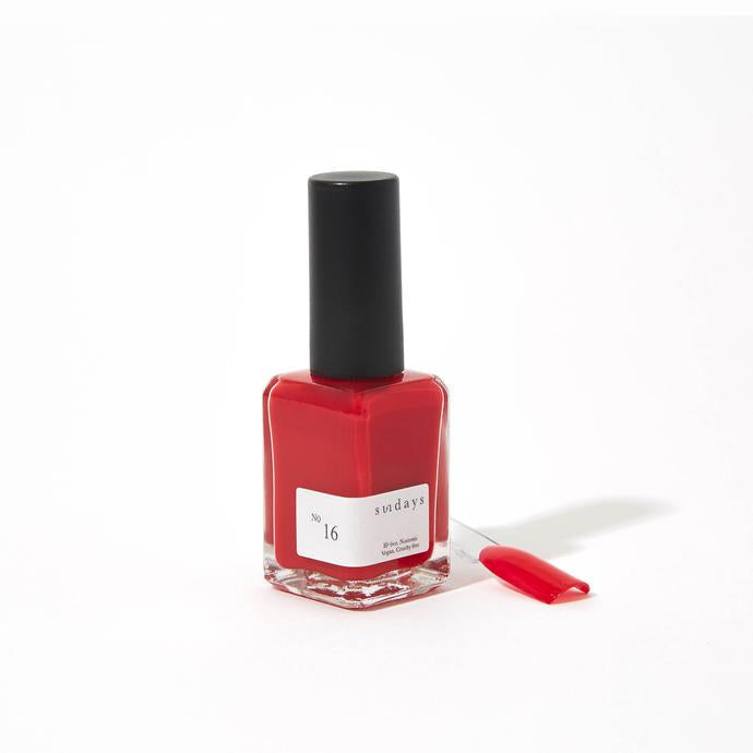 No. 16 Ruby Red Nail Polish
