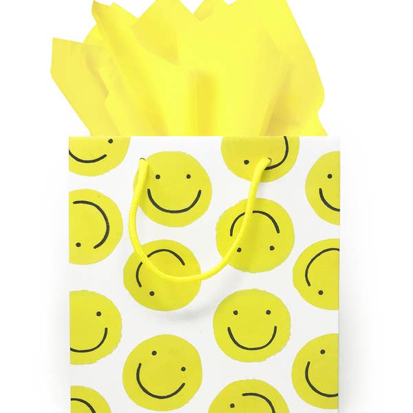 Smiley Faces Gift Bag