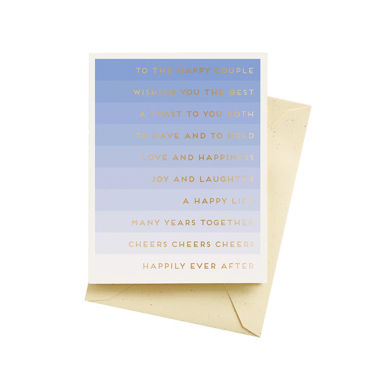Wedding Stripes Card