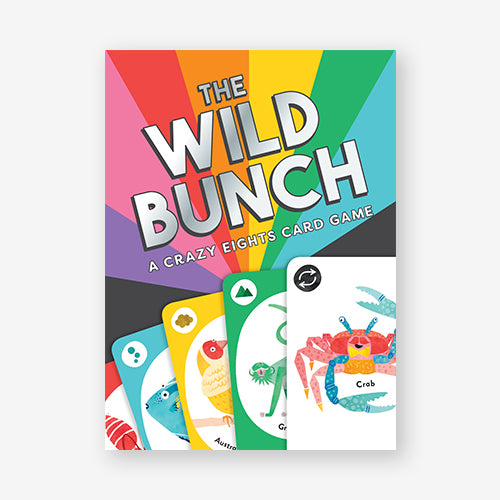 The Wild Bunch Crazy Eights Card Game