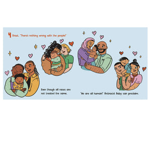 Anti Racist Baby Board Book