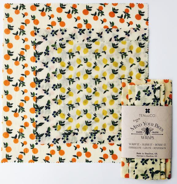 Beeswax Wrap - 3 Pack