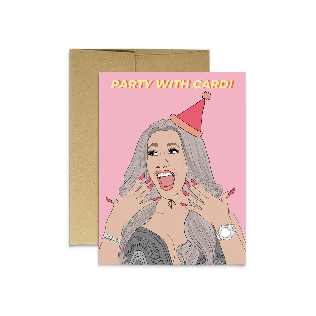 Party With Cardi Card
