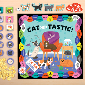 Cat-Tastic Board Game