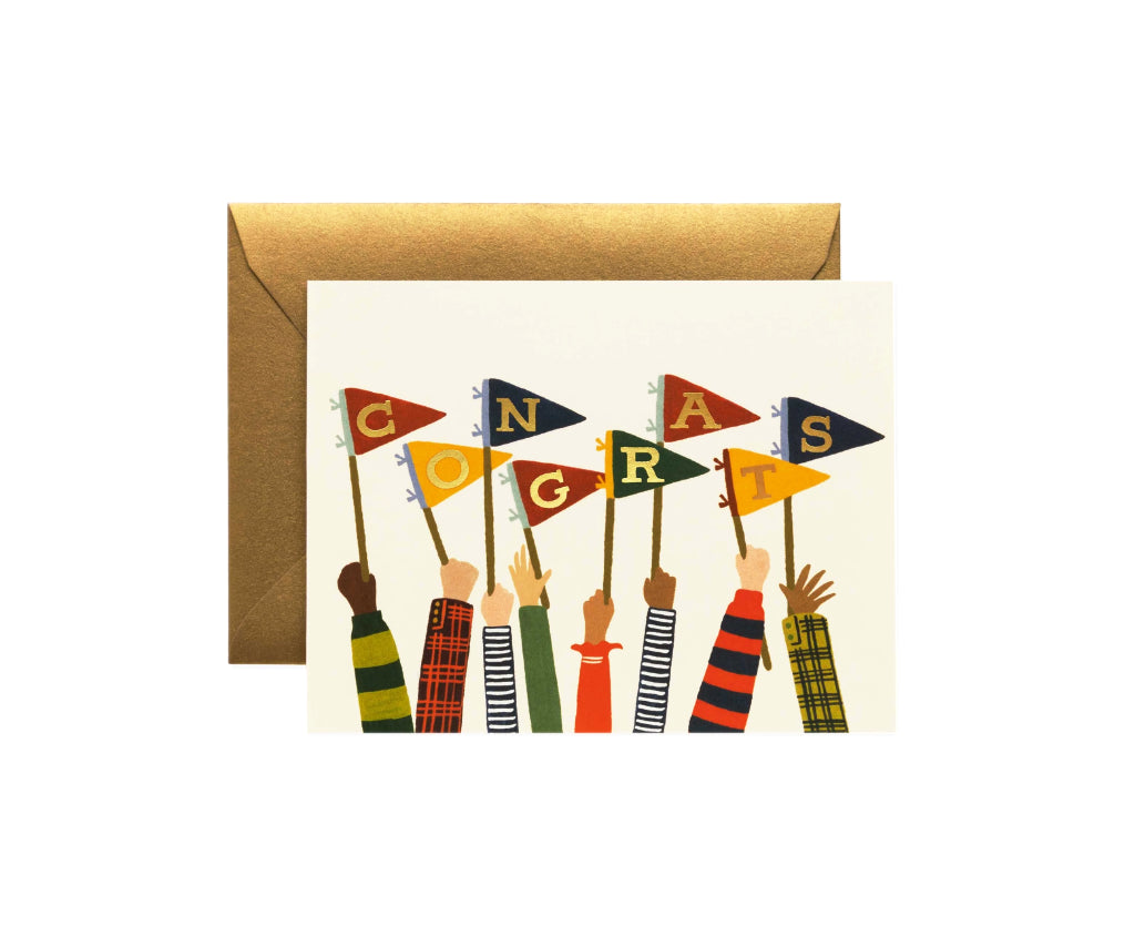 Congrats Flags Card