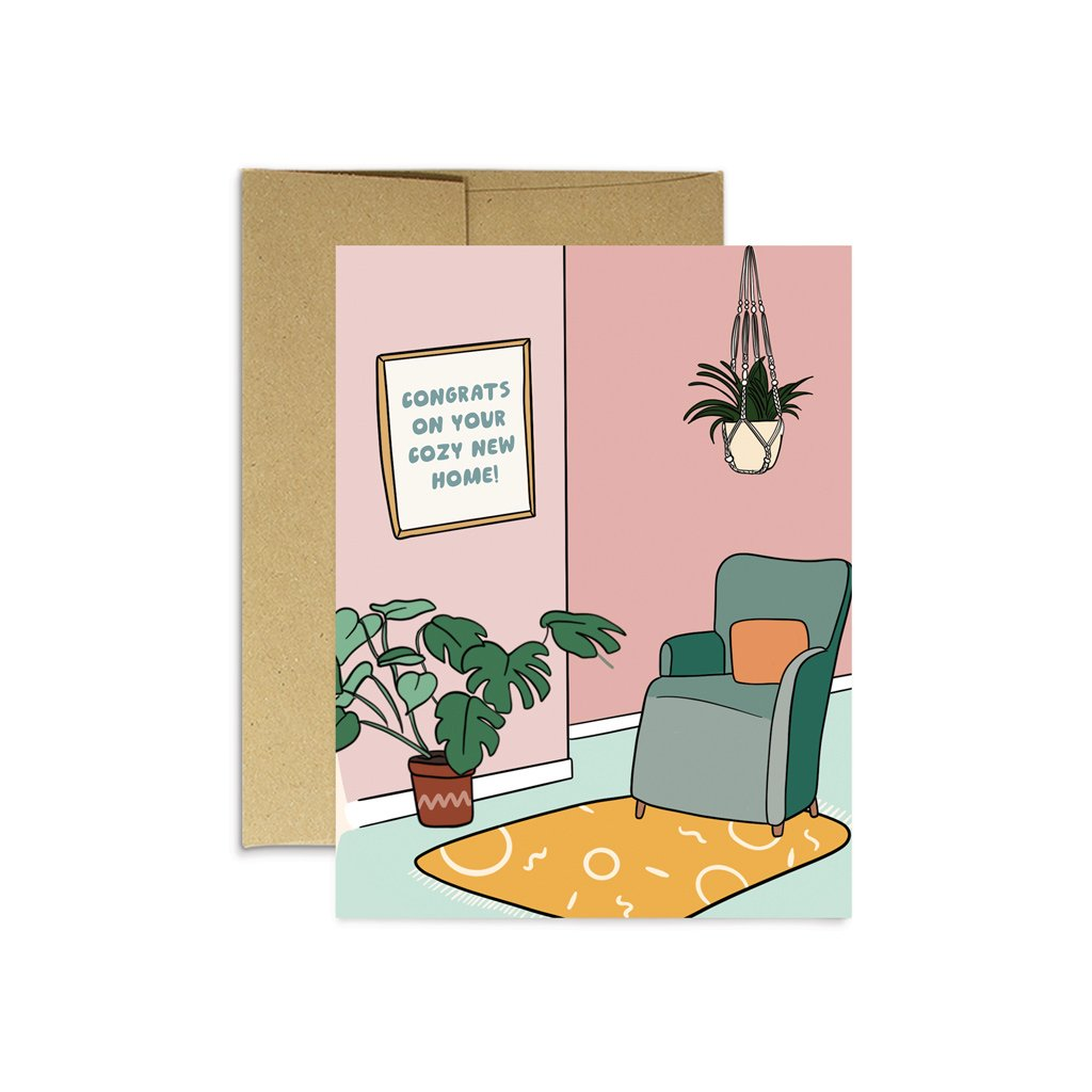 Cozy New Home Card