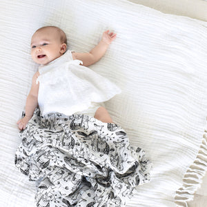 Organic Forest Swaddle