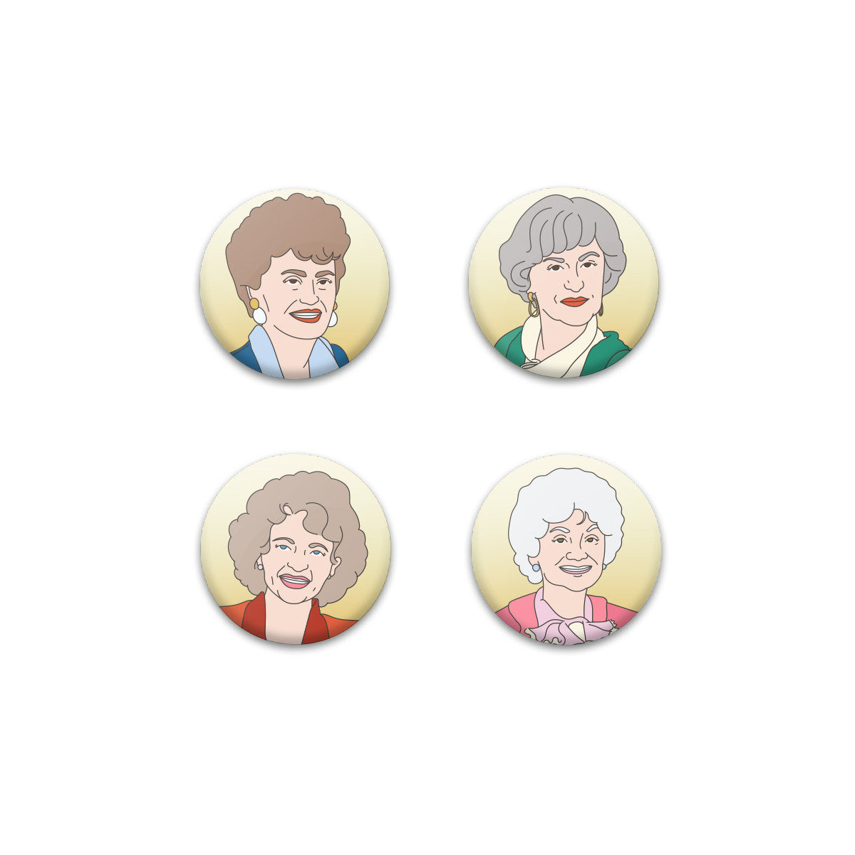 Grannies Magnet Set