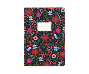 Wild Rose Notebooks Set of 3
