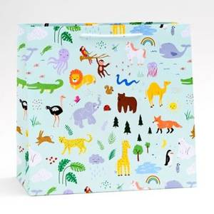 Jungle Animals Gift Bag