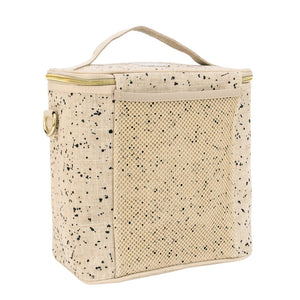 Large Linen Splatter Cooler