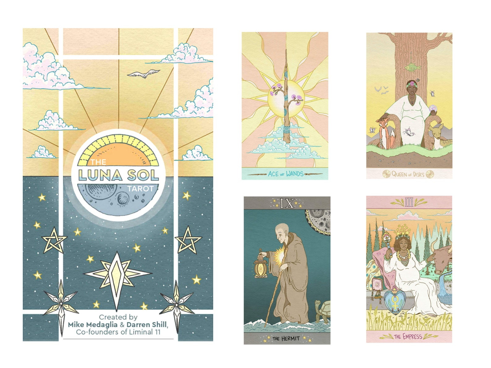 The Luna Sol Tarot Deck