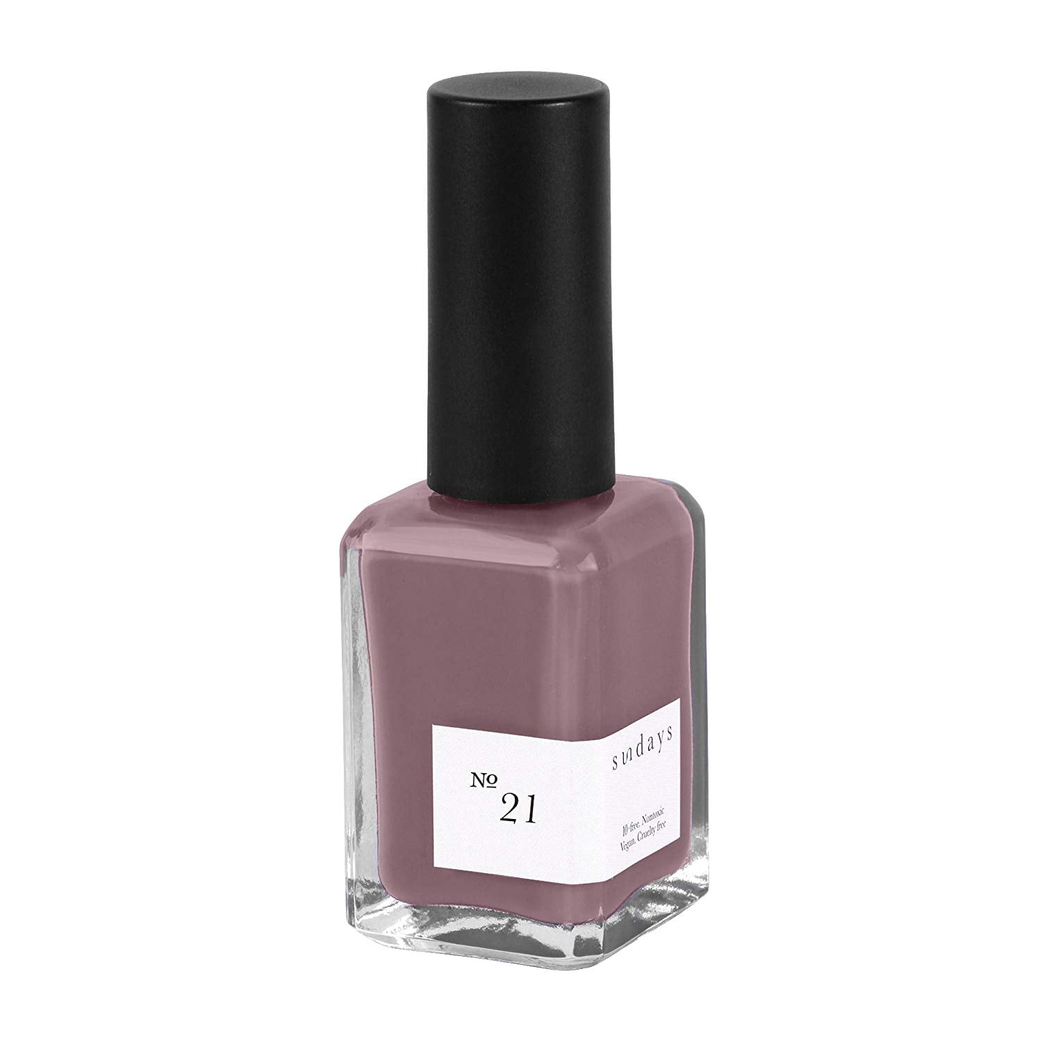 No. 21 Purple Gray Nail Polish