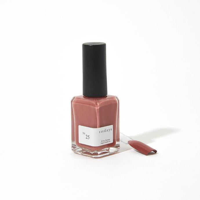 No. 25 Dusty Rose Nail Polish