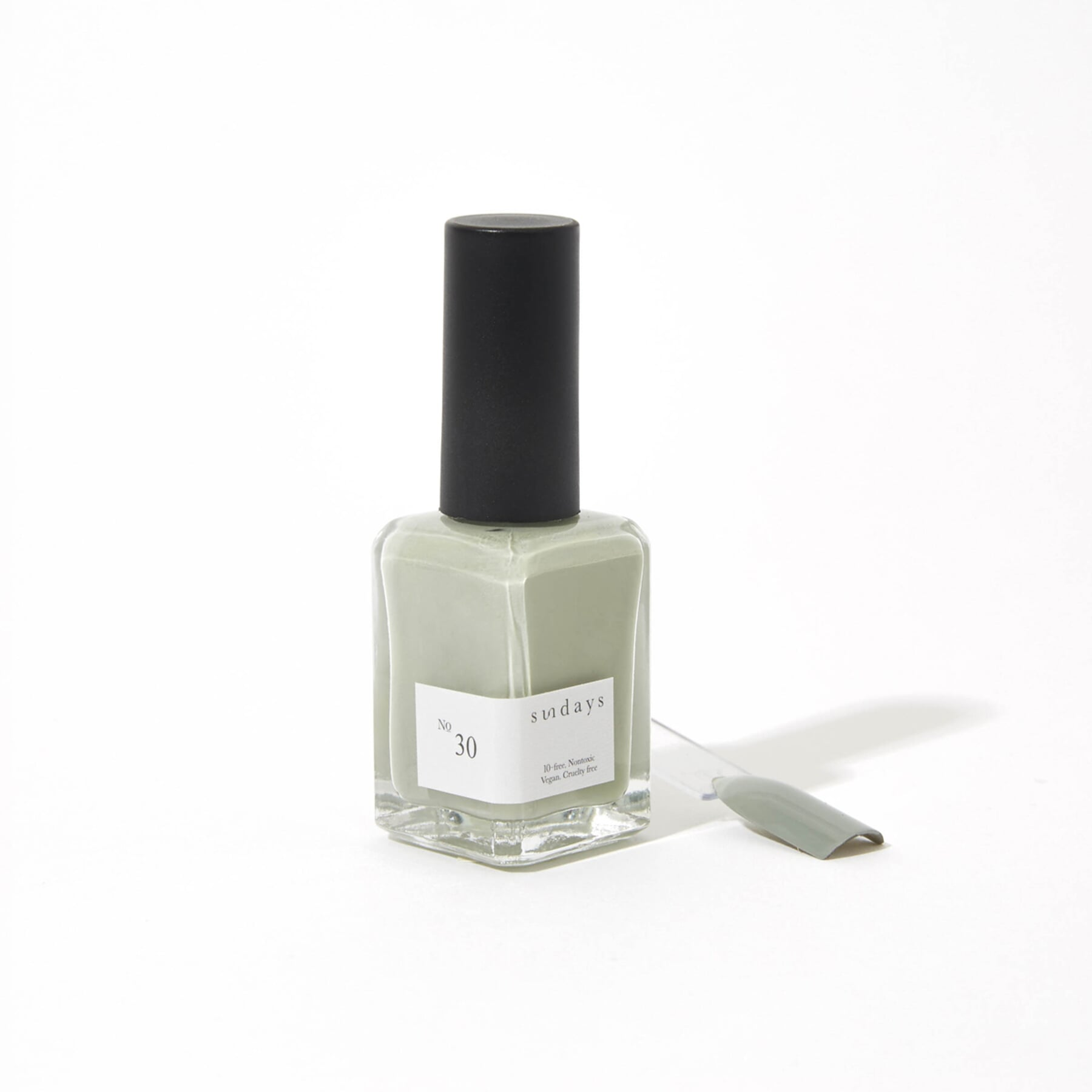 No. 30 Light Olive Gray Nail Polish