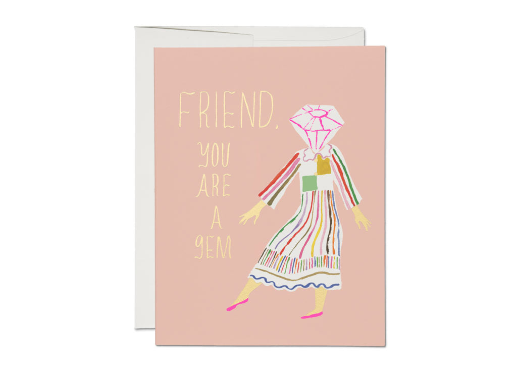 Gem Friend Card