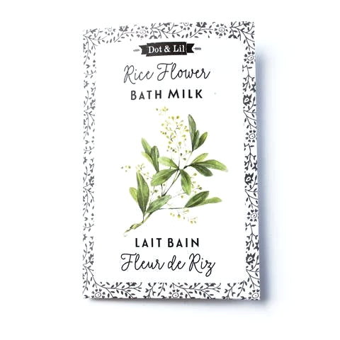 Rice Flower Bath Milk Sachet
