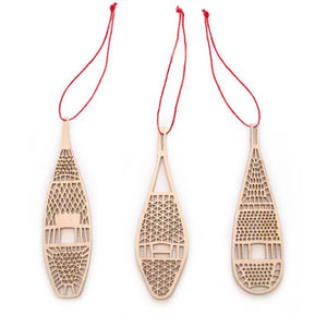 Lasercut Wood Ornaments