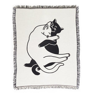 Snuggle Cat Throw Blanket