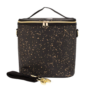 Large Gold Splatter Paper Cooler