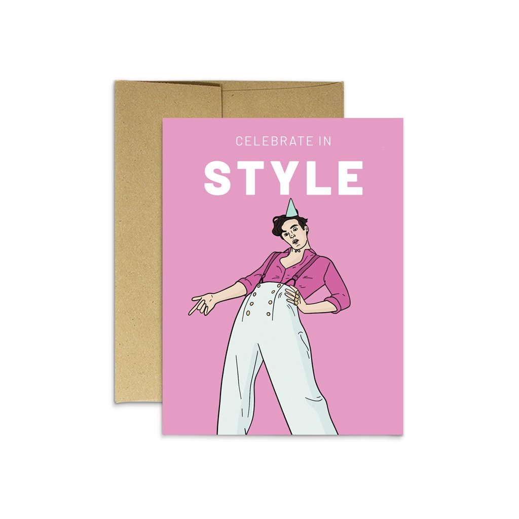 Celebrate In Style Card