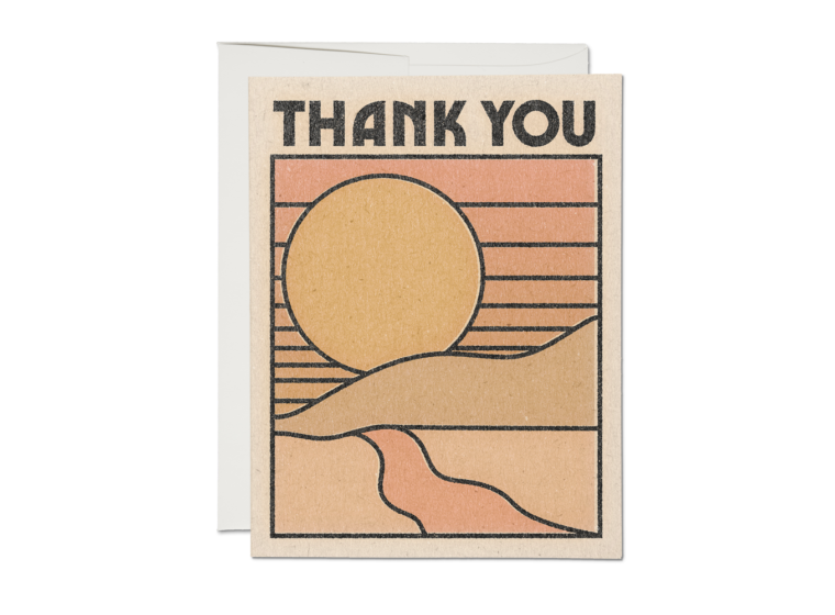 Thank You Sun Boxed Cards