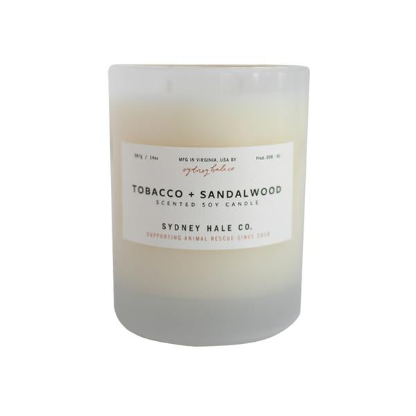 Tobacco + Sandalwood Candle